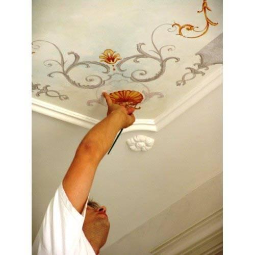 Peinture d corative djerba fluides for Modele de peinture decorative